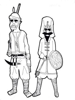Mahout Empire Janissaries by TheReptilianGeneral
