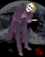 The Joker - Dark Knights Blood by King-Arsalan-Monawar