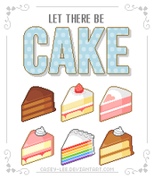 Let there be CAKE! by casey-lee