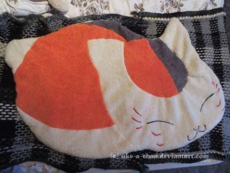 Nyanko Sensei Plush Carpet by uke-a-chan