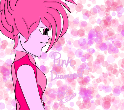 My rendition of Pink Diamond by 1DPuppyLoverFOREVER
