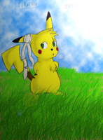Pikachu - Just standing here P by Sc0t1n4t0r