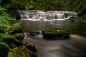 Sweet Creek Falls by LeashaHooker