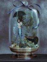 Little Mermaid in Jar III by MelieMelusine
