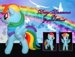 My Little Pony Rainbow Dash Plush by GraphicPlanetDesigns