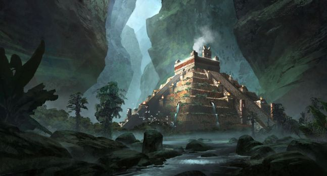Temple Sacrifice by jonathanguzi