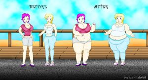irma lair from w i t c h weight gain process by