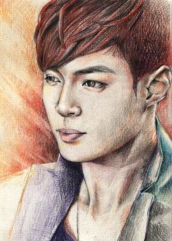 Zhang Yixing by AlmightyCrow