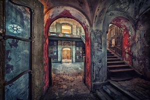 Red Arches by Matthias-Haker