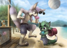 Commission for Xcliber by Silverfox5213