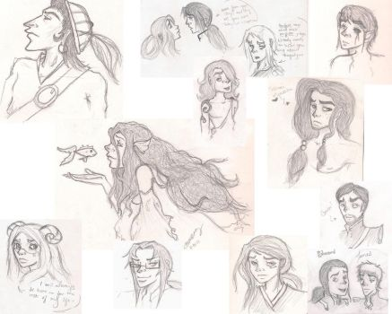 Another Sketchdump by Madame-Mozby