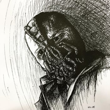 Bane Portrait by Teriyaqi