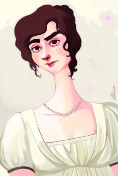 Miss Bennet by Buuya
