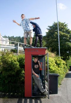 Phone booth Fun by Theme3