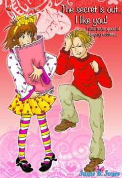 Junie B. Jones and Meanie Jim Valentine by Magical-Mama