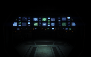 Alien Isolation - Control Room by thypentacle