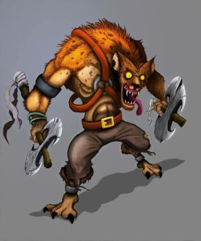 Ed as a Gnoll by expendblejoe
