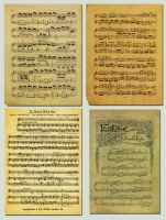 Music Notes - Stock by BaB-Jane