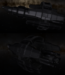Blender ship modelling and rendering by madcomm