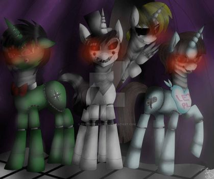 Five nights at Paulie's by BeatrizFlandes