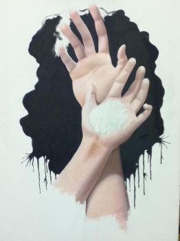 Hands WIP by Color-Droplet