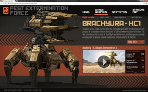 Pest Extermination Force - Introducing Brachyura by yongs