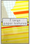7 large paper textures by Kiho-chan