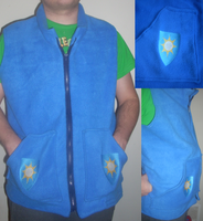 Winter Wrap Up Weather Team Vest by spotsandpatches