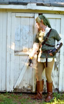 Link: The Hero of Hyrule by RedFoxen