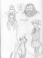 Pottermore scribbles by arystar
