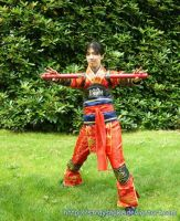 AE08 Cosplay: Ling Tong by StraySnake