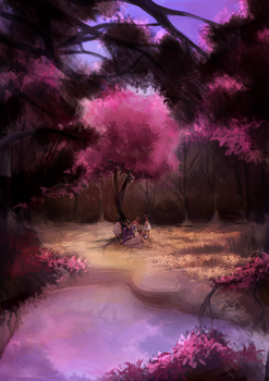 background practice by ProjectMugi