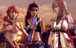 Request - Girls of FFXIII by Val8