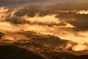 Morning Fire by FlorentCourty