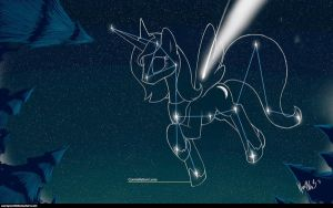 MLP FiM : Constellation Luna by WarePWn3