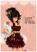 Dance outfit/Aly by Skyler-chan498