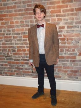The 11th Doctor costume by sterner2rock