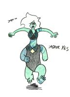 I was doodling Malachite and by LittleSnaketail