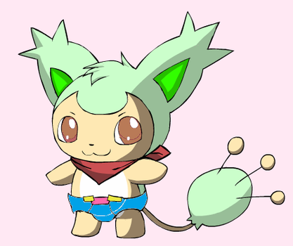 Tyson The Skitty by deadf1