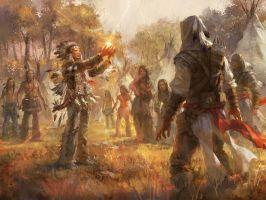Assassin's Creed_Utopia_Illustration by luulala