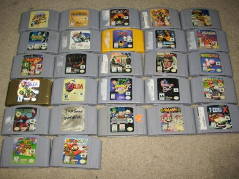 Game On :N64 Games: by Phycosmiley