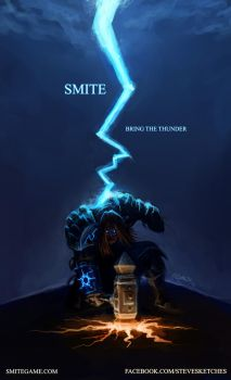 Smite - Bring The Thunder by SteveSketches