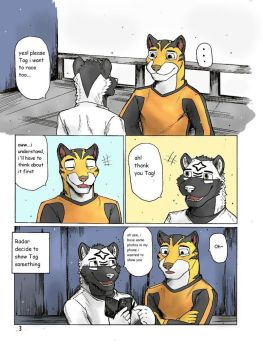 Rimba Racer in Radar and Tag comic Pg.3 by wingwolf88