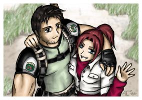 Chris and Claire by Nanaga