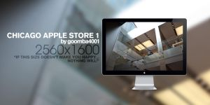 Chicago Apple Store 1 by Goomba4001