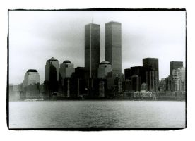 Twin Towers by Vensik