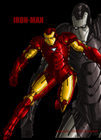 IRON MAN by JuliusC1224