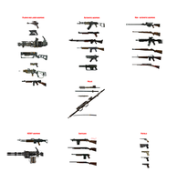 MMD Fallout 3 and New Vegas weapons download by RaiR-211