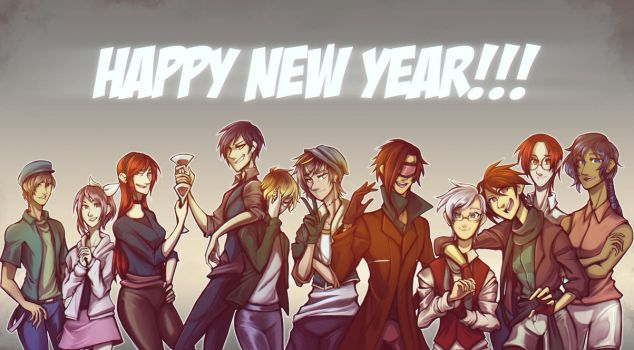 [ Speedpaint ] New Year by Evo917