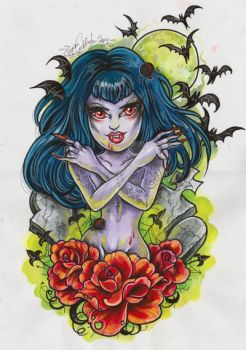 lady is a vamp by glittersniffer